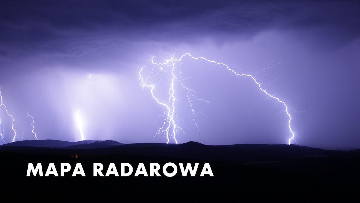 Radar Opadow Mapa Deszczu I Sniegu W Polsce Online